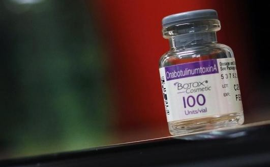 A sample of Botox is seen at the Long Island Plastic Surgical Group at the Americana Manhasset luxury shopping destination in Manhasset