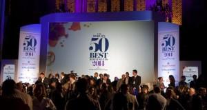 Noma y El Celler aspiran a revalidar el título de mejor restaurante mundial Vista general de la gala de los Premios de los 50 Mejores Restaurantes del Mundo, que el año pasado se celebró en el Guildhall de Londres (R.Unido).