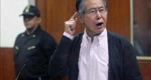 El Poder Judicial determina reponer el teléfono a Fujimori en prisión El expresidente peruano Alberto Fujimori, el pasado viernes 15 de mayo de 2015, en la División de Operaciones Especiales (Dinoes) en el Fundo Barbadillo, Ate-Vitarte en Lima (Perú).
