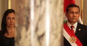 El presidente Ollanta Humala rechaza las nuevas denuncias contra su esposa El presidente de Perú, Ollanta Humala (d), y su esposa, Nadine Heredia.