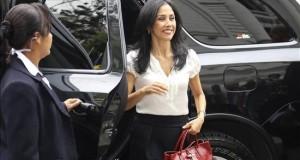La primera dama de Perú, incluida en una investigación del Congreso a Belaunde Lossio La primera dama de Perú, Nadine Heredia.