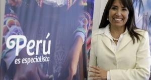 El turismo rural comunitario será tema del próximo congreso del área en la OEA La ministra peruana de Turismo, Magali Silva.