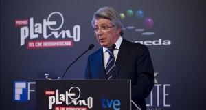 Empiezan a llegar las más de 500 estrellas e invitados de los Premios Platino El presidente ejecutivo de los Premios Platino y presidente de la Entidad de Gestión de Derechos de los Productores Audiovisuales (Egeda), Enrique Cerezo. EFE/Archivo