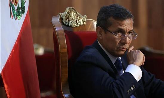Humala asegura que Perú dejó de ser el primer productor de drogas del mundo En la imagen, el presidente peruano, Ollanta Humala. EFE/Archivo
