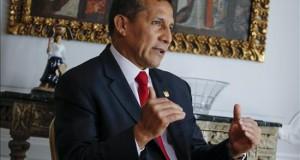 Humala dijo a escolares que la ruta Qhapaq Ñan permite una mayor integración El presidente de Perú, Ollanta Humala
