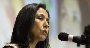 Niegan un amparo a la esposa de Humala ante la comisión parlamentaria que la interrogó En la imagen, la primera dama de Perú, Nadine Heredia.