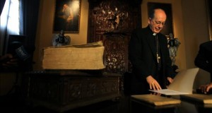 Arzobispo de Lima sale al paso de acusaciones de plagio El Arzobispo de Lima, Cardenal Juan Luis Cipriani.