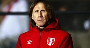 Gareca prefería que Farfán siguiera en Europa en vez fichar por el Al Jazira El seleccionador de Perú, Ricardo Gareca.