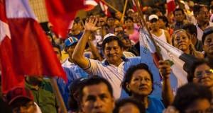 Indígenas peruanos ingresan a aeródromo de lote petrolero en víspera de paro Las autoridades y organizaciones sociales de Loreto piden que el lote 192, el más grande del país, sea operado por la estatal PetroPerú para garantizar la remediación ambiental.