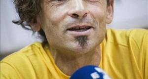 Espeleólogo español recuerda en Lima el rescate que hace un año lo sacó de una cueva El espeléologo español Cecilio López-Tercero.