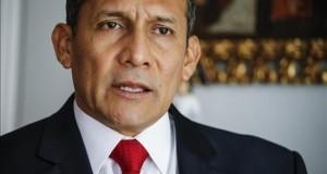 Humala lamenta que el Congreso permita tarde a Petroperú operar un lote petrolífero El presidente de Perú, Ollanta Humala.