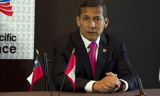 Congreso recomienda investigar exasesor de Humala por resguardo a empresario Imagen del presidente de Perú, Ollanta Humala.