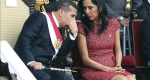 Congreso aprueba informe que recomienda investigar a la primera dama del Perú El presidente peruano, Ollanta Humala (i), y la primera dama, Nadine Heredia (d).