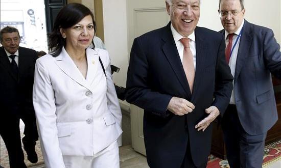 Perú lidera con Francia los esfuerzos para lograr un acuerdo de cambio climático Imagen de la canciller peruana, Ana María Sánchez.