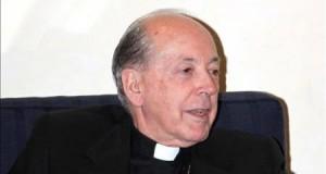 """El arzobispo de Lima pide al fundador del Sodalicio responder a las denuncias de abusos Fotografía tomada en febrero de 2013 en la que se registró al arzobispo de Lima, Juan Luis Cipriani Thorne, quien aseguró que """"todo lo que sea un abuso o maltrato a los niños no solo es un pecado sino un delito."""