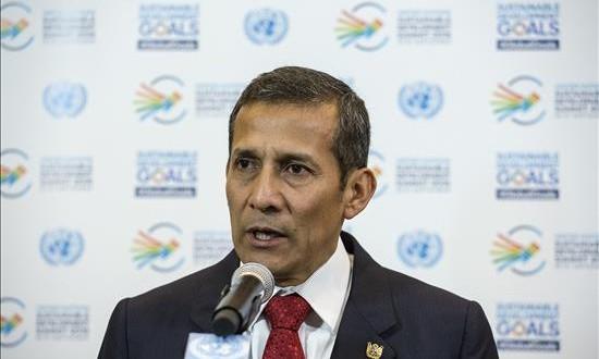 Perú exonera de visa a alumnos, empresarios y periodistas del espacio Schengen El presidente de Perú, Ollanta Humala.