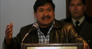 Bolivia usará radares contra el narcotráfico en la frontera con Perú y Argentina El viceministro de Sustancias Controladas, Felipe Cáceres.