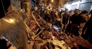 Perú condena el atentados que dejaron 43 muertos y 239 heridos en Beirut Fotografía tomada el pasado 12 de noviembre en la que se registraron los destrozos causados por los dos ataque suicidas perpetrados en el suburbio de Burj Barajneh en Beirut, Líbano