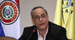 Burga, expresidente de Federación Peruana, niega haber recibido sobornos El presidente de la Federación Peruana de Fútbol (FPF), Manuel Burga.