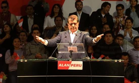 El Congreso confirma que el Poder Judicial excluyó a Alan García de las investigaciones El expresidente peruano Alan García.