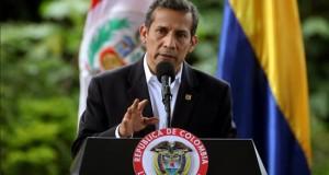 Policía peruana estará a cargo del orden interno en conflictivo VRAEM El presidente de Perú, Ollanta Humala.