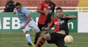 El Melgar gana el título peruano en el año de su centenario Imagen de un partido del Melgar en la Copa Sudamericana.