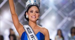 Filipinas gana la corona de Miss Universo que por instantes fue de Colombia Imagen facilitada por la organización de Miss Universo 2015 de la candidata filipina Pia Alonzo Wurtzbach, después de ser coronada como ganadora del certamen, celebrado en Las Vegas, EEUU.