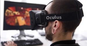 """El dispositivo de realidad virtual Oculus Rift sale a la venta en 20 países Un hombre utiliza el """"Oculus Rift"""", un sistema de inmersión en realidad virtual."""