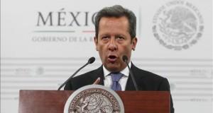 """Penn y Del Castillo, protagonistas del nuevo capítulo de la historia del """"Chapo"""" El portavoz del gobierno mexicano, Eduardo Sánchez. EFE/Archivo"""