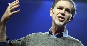 Los usuarios de Netflix vieron 42.500 millones de horas de películas en 2015 El director ejecutivo de Netflix, Reed Hastings.