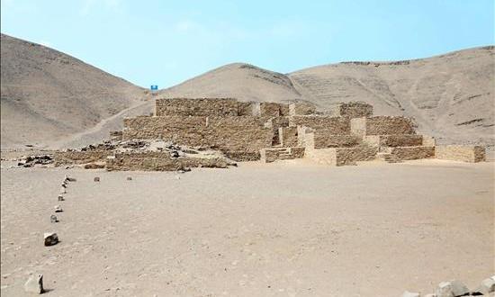Presentan los primeros hallazgos en el sitio arqueológico más antiguo de Lima Fotografía cedida del complejo arquelógico de Paraiso, al norte de la ciudad de Lima (Perú).