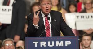 """Trump: """"Podría disparar a gente en la Quinta Avenida y no perdería votos"""" El magnate y candidato a la presidencia de EE.UU., Donald Trump."""