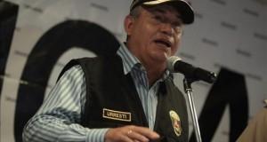 """El candidato oficialista culpa a Alan García y a Fujimori por la """"gran corrupción"""" El exministro Daniel Urresti, candidato a la Presidencia de Perú por el gobernante Partido Nacionalista."""