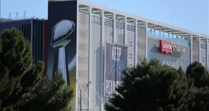 San Francisco vive de fiesta en las vísperas del Super Bowl Vista general del estadio Levi's el 1 de febrero de 2016, para la edición número 50 del Super Bowl y el juego entre AFC Champion Denver Broncos y NFC Champion Carolina Panthers en el estadio Levi's en Santa Clara, California (Estados Unidos).