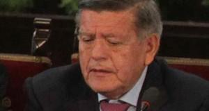 Envían a la Fiscalía las denuncias contra un candidato peruano acusado de plagio El empresario César Acuña, candidato a la Presidencia de Perú.
