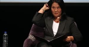 Fujimori, Acuña y Toledo no acuden al primer debate electoral en Perú En la imagen, la candidata presidencial Keiko Fujimori.