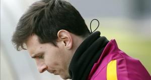 Leo Messi financia la investigación del cáncer infantil en el Vall d'Hebron El jugador del FC Barcelona Leo Messi.