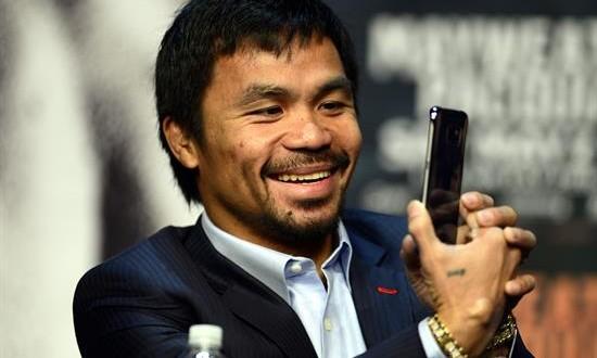 Nike cancela su contrato promocional con Pacquiao por sus comentarios homófobos En la imagen, el boxeador filipino Manny Pacquiao.