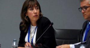 En la imagen del pasado martes, la subsecretaria de Turismo de Chile, Mónica Zalaquett (i), durante su participación en la Sesión de Oportunidades de Inversión en Iberoamérica enmarcada en la XXII Conferencia Iberoamericana de Ministros y Empresarios de Turismo (CIMET). EFE