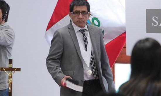 En la imagen, el juez Richard Concepción Carhuancho. EFE/Archivo