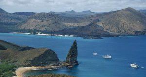 Vista panorámica del archipiélago ecuatoriano de las Galápagos. EFE/Archivo