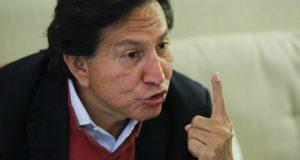 El expresidente peruano Alejandro Toledo, quien permanece en Estados Unidos aun cuando pesa sobre él una orden de captura internacional.