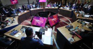 Vista general de la reunión del Grupo de Lima. EFE/Archivo