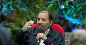 En la imagen, el presidente de Nicaragua, Daniel Ortega. EFE/Archivo