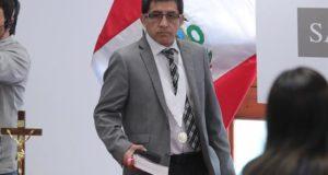Imagen de archivo del juez Richard Concepción Carhuancho. EFE/Archivo