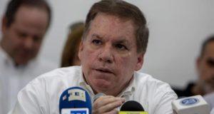 """""""Hay empresas que ya no van a poder seguir operando"""", anunció en rueda de prensa el presidente del Consejo Superior de la Empresa Privada de Nicaragua (Cosep), José Adán Aguerri (Imagen), sin precisar cuáles. EFE/Archivo"""