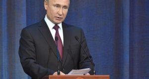El presidente ruso, Vladímir Putin. EFE/ Alexei Nikolsky