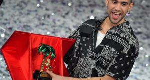 El cantante italo-egipcio Alessandro Mahmoud, conocido como Mahmood, ganó la pasada madrugada la 69ª edición del Festival de la Canción de Sanremo y, por ello, será el representante de Italia en Eurovisión, el próximo mayo en Tel Aviv.EFE