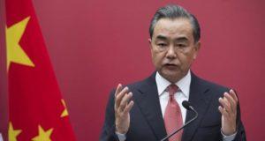El ministro chino de Asuntos Exteriores, Wang Yi, EFE/Archivo