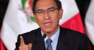En la imagen, el presidente de Perú, Martín Vizcarra. EFE/Archivo